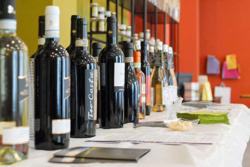 Degustazione guidata vini italiani